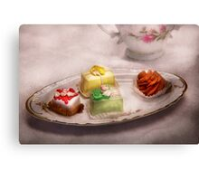 Food - Sweet - Cake - Grandma's treats  Canvas Print