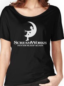 ScreamWorks (White) Women's Relaxed Fit T-Shirt