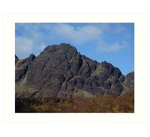 Blaven Detail - Isle of Skye Art Print