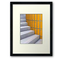 A Roundabout Way Framed Print