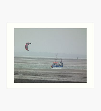 Sea Transport Art Print
