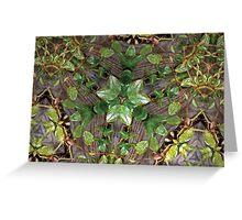 Prismatic Foliage 21 Greeting Card