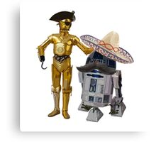 We're not the droids your looking for... Canvas Print