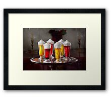 Food - Sweet - Let's parfait all night  Framed Print