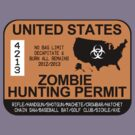 Zombie Hunting Permit 2012/2013 by zorpzorp
