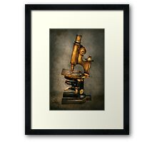 Doctor - Microscope -  The start of modern science Framed Print