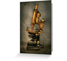 Doctor - Microscope -  The start of modern science Greeting Card