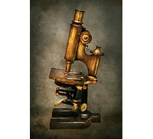 Doctor - Microscope -  The start of modern science Photographic Print