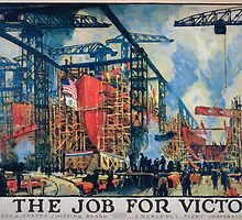 On the job for victory United States Shipping Board Emergency Fleet Corporation 1 by wetdryvac