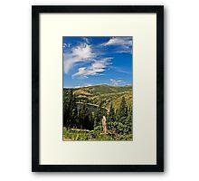 Colorado Blue Framed Print
