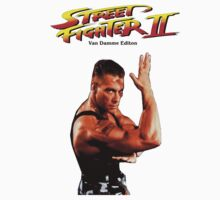 Jean Claude Van Damme Street Fighter Special Edition by caocaoism