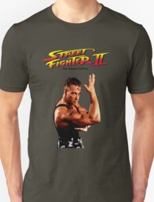 Jean Claude Van Damme Street Fighter Special Edition T-Shirt