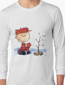 snoopy christmas Long Sleeve T-Shirt
