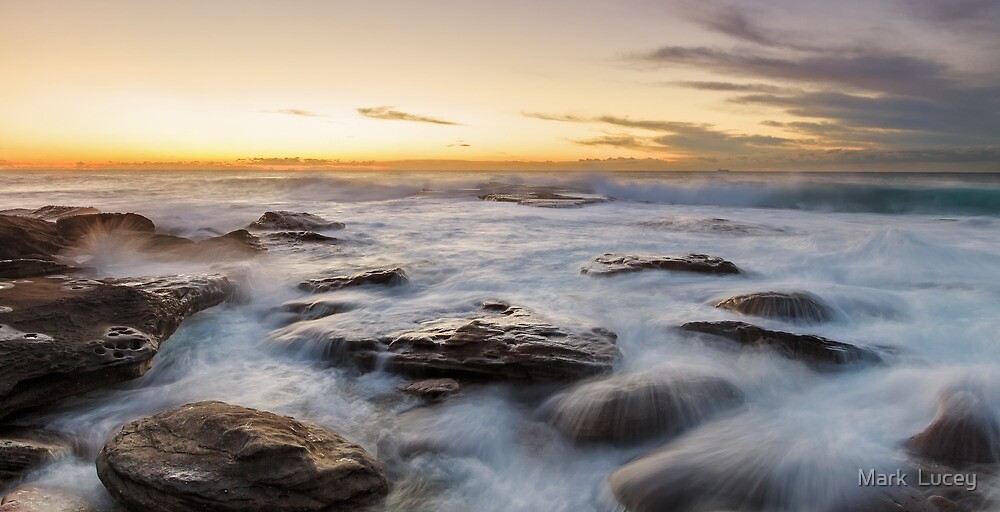 Little Bay Rising II by Mark  Lucey