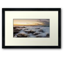 Little Bay Rising II Framed Print