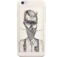 Mister Sir illustration iPhone Case/Skin