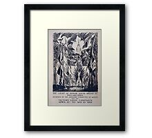 The court of honor South Broad St Philadelphia designed by the Advisory Committee of Artists for the Victory Loan Campaign April 21st to May 10th 1919 Framed Print