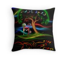 Radiohead King of Limbs Throw Pillow