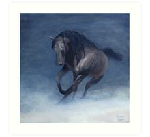 Horse Painting Art Print