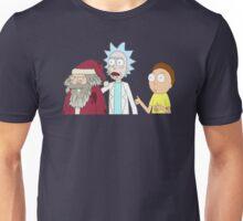 Rick And Morty Ft. Santa Unisex T-Shirt