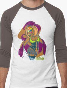 MEGA Men's Baseball ¾ T-Shirt