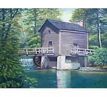 Old Mill Painting Photographic Print