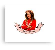 Captain Sharon Raydor, Precious Cupcake Canvas Print