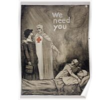 We need you Poster