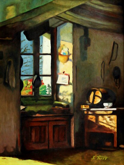 Window Still Life Painting by JamieTifft
