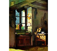 Window Still Life Painting Photographic Print