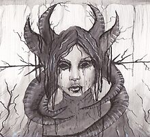 Death's Decay- Pen and Ink by JamieTifft