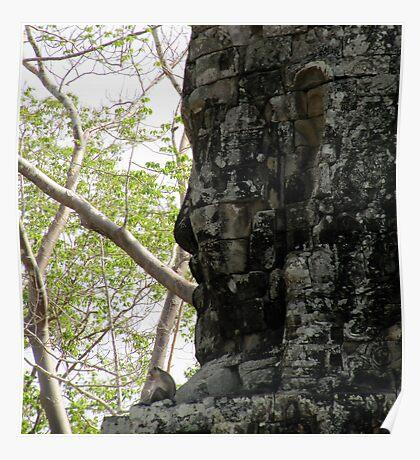 Angkor Thom, Cambodia Poster