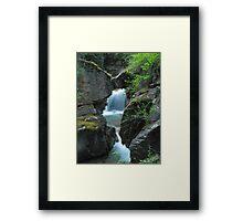 Cottonwood Cascades Framed Print
