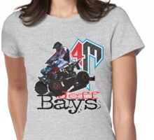Jeff Bays Title T Womens Fitted T-Shirt