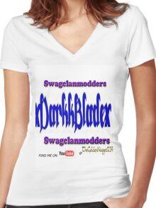 xDarkkBladex aka me T_shirt Women's Fitted V-Neck T-Shirt
