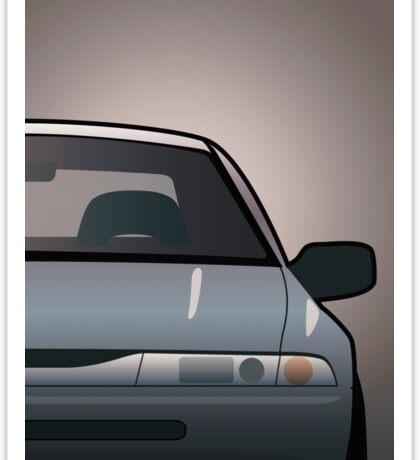 Modern Japanese Icons: Subaru Alcyone SVX (Split) Sticker