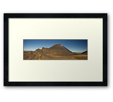 Tongariro Alpine Crossing Framed Print