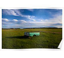 Badlands Truck Poster