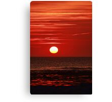 Sunset at the Churn II Canvas Print