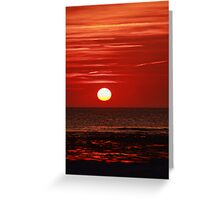 Sunset at the Churn II Greeting Card