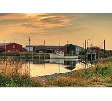 Sandford Sunset Photographic Print