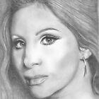 Barbra Streisand by Karen Townsend