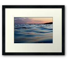 Liquid Heaven Framed Print