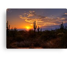 Sunset in  the Southwest  Canvas Print