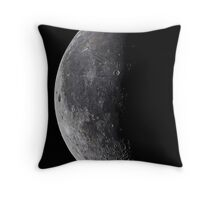 Summer Crescent Throw Pillow