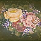 Antique Flowers by waxyfrog