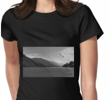 WINTER MIGRATION Womens Fitted T-Shirt