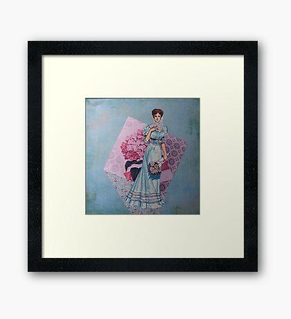 Ladies of Fashion: Jeanne Framed Print