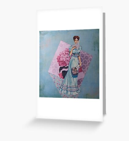 Ladies of Fashion: Jeanne Greeting Card