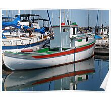 Little Lost Boat - Ernie Dickey Poster